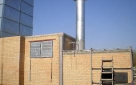 Теплогенератор зерносушилки на дровах, 2,4 МВт