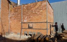 Теплогенератор зерносушилки на дровах, 4,5 МВт