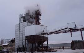 Зерносушилка KW ADS40R на дровах. г. Кролевец